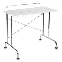 Стол для компьютера Бюрократ DL-HG005/White белый