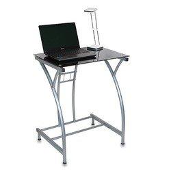 Стол для компьютера Бюрократ GD-002/Black черный