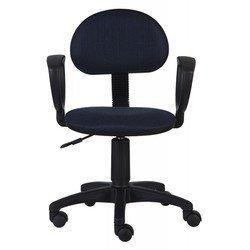 Кресло Бюрократ CH-213AXN (черно-синий)