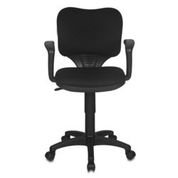 Кресло Бюрократ CH-540AXSN-LOW/26-28 (черный, низкая спинка)