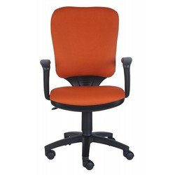 Кресло Бюрократ CH-540AXSN-LOW/26-29-1 (оранжевый, низкая спинка)