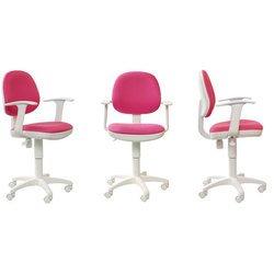 Кресло Бюрократ CH-W356AXSN/15-55 (розовый, пластик белый)
