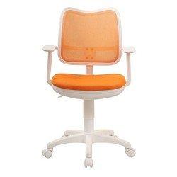 Кресло Бюрократ CH-W797/OR/TW-96-1 (оранжевый, пластик белый)