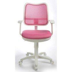 Кресло Бюрократ CH-W797/PK/TW-13A (розовый, пластик белый)