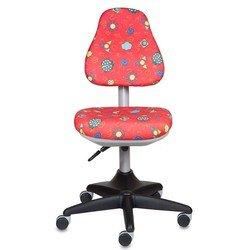 Кресло детское Бюрократ KD-2/R/LB-Red (красный)