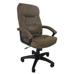 Кресло руководителя Бюрократ T-9908AXSN/MF102 (коричневый, микрофибра)