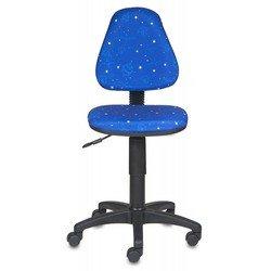 Кресло детское Бюрократ KD-4/Cosmos (синий космос)