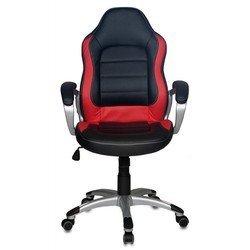 Кресло Бюрократ CH-825S/Black+Rd (черно-красный, искусственная кожа)