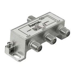 Антенный разветвитель F-штекер (f) - 3xF-штекер (f), 5-860 МГц, 75 Ом (Hama H-44124)