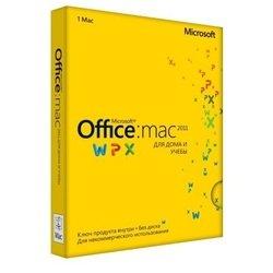Microsoft Office Mac 2011 для дома и учебы, русский интерфейс (GZA-00317)