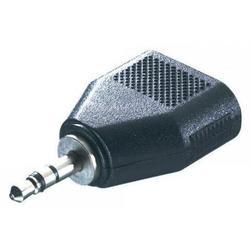 Адаптер 2x3,5mm (f) - 3,5mm Jack (m) (Ningbo)