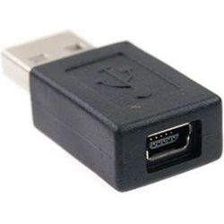 Переходник miniUSB (m) - USB (f) (Ningbo)