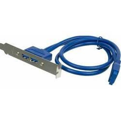 Kабель USB 3.0 (Ningbo 5P X 2USB3.0)