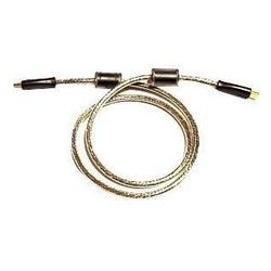Кабель HDMI - HDMI Ver.1.4, ферритовые кольца, Gold 15м (серебристый)