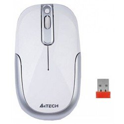 мышь a4 tech g9-110h-2 white holeless wireless usb