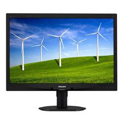 "монитор philips 24\\"" 240b4lpycb (00/01) glossy-black tn led 5ms 16:10 dvi 20m:1 250cd displayport usb"