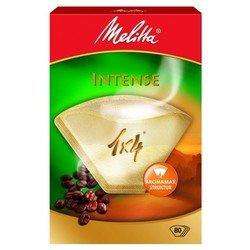 Фильтры бумажные Melitta Intense (для крепкого кофе) 1х4/80 шт., коричневые