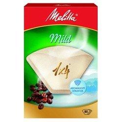 Фильтры бумажные Melitta Mild (для мягкого кофе) 1х4/80 шт., белые