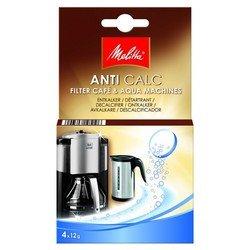 Очиститель от накипи для фильтр-кофеварок и чайников Melitta (4х12гр)