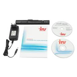"iru intro 108 atom n2600/2gb/64gb ssd/gma3600/10,1\\""/wsvga/win 7 home basic/black/3c/wifi/cam"