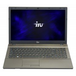 "ноутбук iru patriot 514 k core i3-3120m/2gb/500gb/dvdrw/hdg/15.6\\""/hd/free dos/black/ultrathin/6c/wifi/cam"