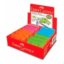 Ластик Faber-Castell Sleeve - мини 182460 флуоресцентный