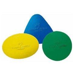Ластик Faber-Castell 589022 фигурный круглый набор цветов
