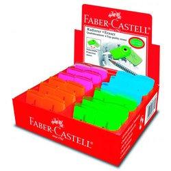 Ластик Faber-Castell Sleeve - мини 182448 флуоресцентный (старый артикул 182460)