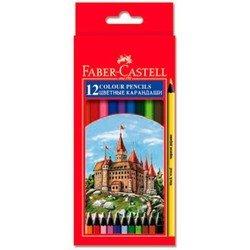 Карандаши цветные Faber-Castell Colour Pencils 115808 в картонной коробке 12 цветов