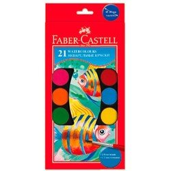 ������ ����������� Faber-Castell Watercolours 125021 � 2 ���������� ������� 30�� 21 ����