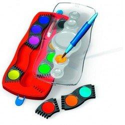 Краски акварельные Faber-Castell Connector 125023 в пластиковом поддоне 12 цветов