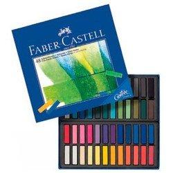 Мелки Faber-Castell 128248 мягкие мини Gofa в картонной коробке 48 цветов