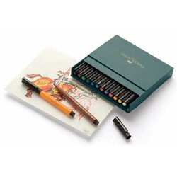 ����� ����������� Faber-Castell Pitt Artist Pen 167146 12 ������ � ��������� ������� �� �������
