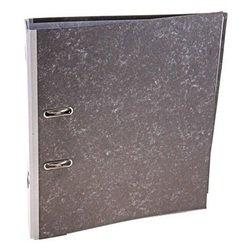 Папка Кorona 75мм (мрамор, серый корешок)