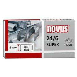Скобы Novus 040-0058 24/6 DIN 1000шт в упаковке (040-0190)