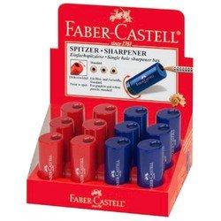 Точилка Faber-Castell 183301 с контейнером красный/синий