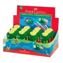 Точилка Faber-Castell Рыбка 183520 универсальная с ластиком