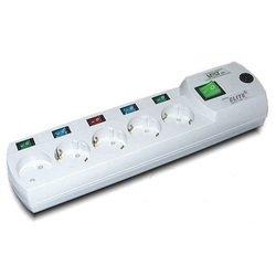 Сетевой фильтр Most EHV 5м (5 розеток) (белый)
