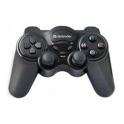 Геймпад беспроводной Defender Game master Wireless USB (черный)