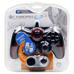 геймпад cyborg v.3 rumble pad cov4426300b2/04/1 ps/3 ps/2 pc