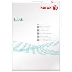 Универсальные этикетки Xerox белые/А4/105x37,12 мм/100 листов