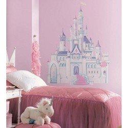 Наклейки RoomMates RMK1546GM Disney Принцессы замок с блестками