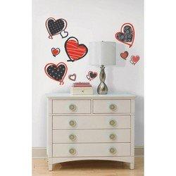Наклейки RoomMates RMK1862SCS Современные сердца