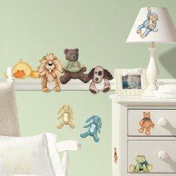 Наклейки RoomMates RMK1023SCS Мягкие игрушки звери