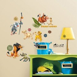 Наклейки RoomMates RMK1921SCS Disney Король Лев