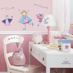 Наклейки RoomMates RMK1015SCS Сказочная принцесса