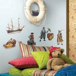 Наклейки RoomMates RMK1041SCS Пираты