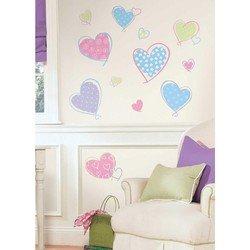 Наклейки RoomMates RMK1434SCS Сердца