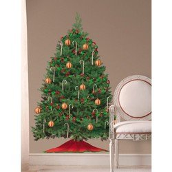 Наклейки RoomMates RMK1203GM Рождественская елка