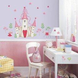 Наклейки RoomMates YH1328M Disney Принцессы замок